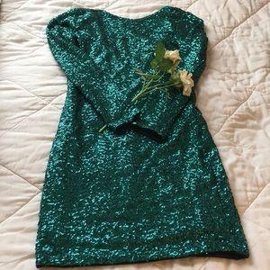 Sequined mermaid dress